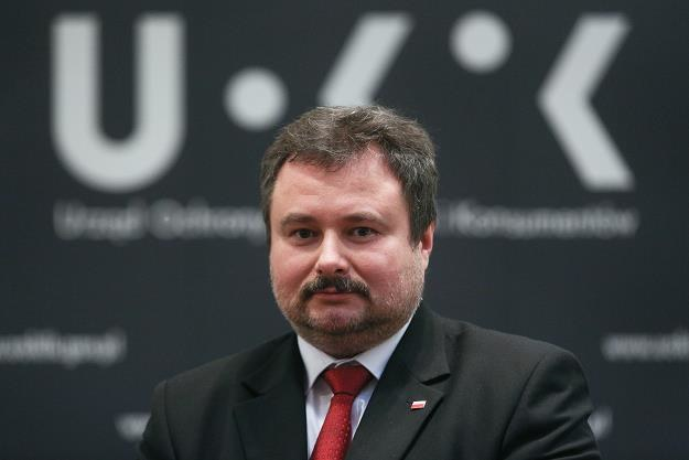 Marek Niechciał, prezes UOKiK. Fot. Michał Dyjuk /FORUM