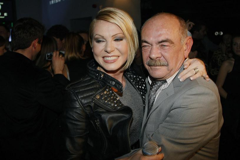 Marek Nowakowski z córką Karoliną /Wojtalewicz Jarosław /AKPA