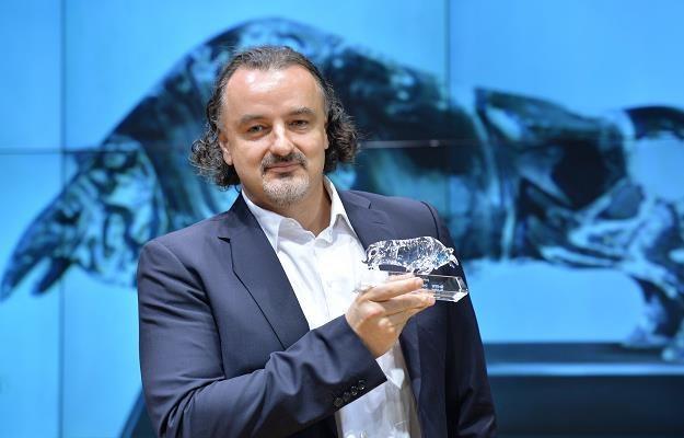 Marek Orłowski, prezes Adiuvo Investments, w czasie debiutu spółki na GPW /PAP