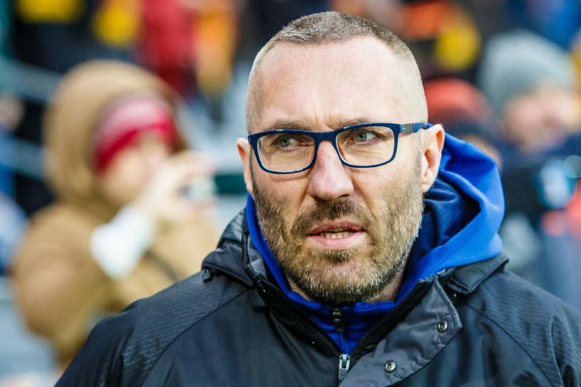 Marek Papszun, trener Rakowa Częstochowa /Grzegorz Ksel/REPORTER /East News