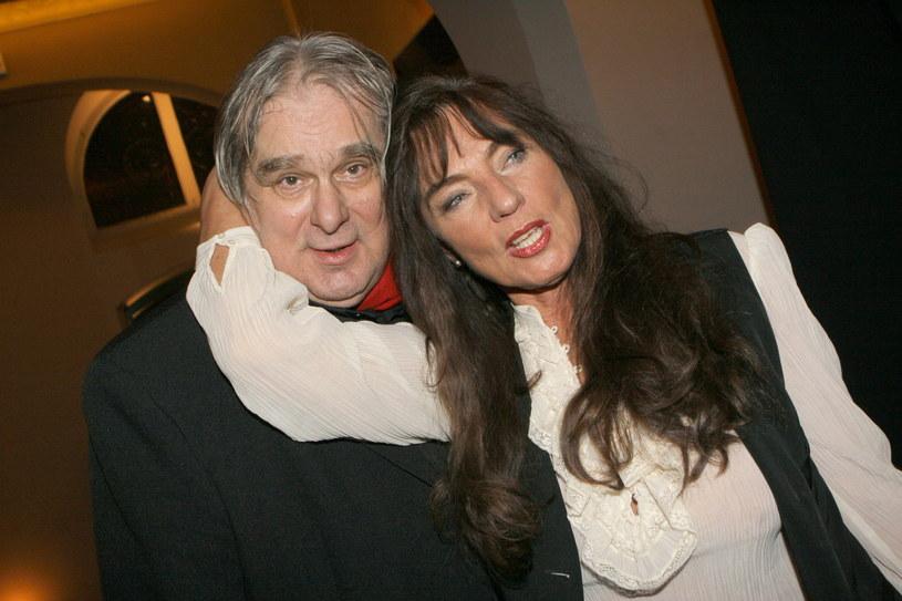 Marek Perepeczko i Agnieszka Perepeczko, 14 listopada 2005 r. /Rafał Maciąga /Agencja FORUM