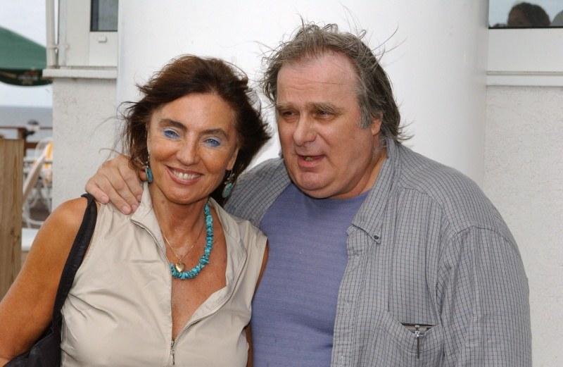 Marek Perepeczko z żoną Agnieszką Fitkau-Perepeczko /Agencja W. Impact