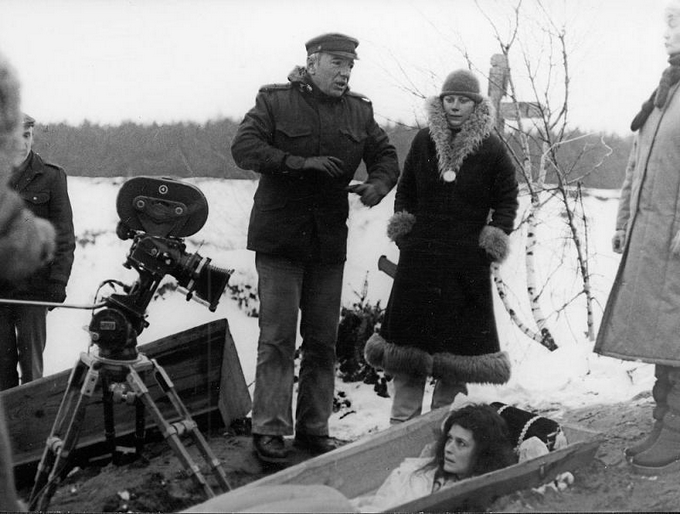 Marek Piestrak podczas prac nad filmem /materiały prasowe