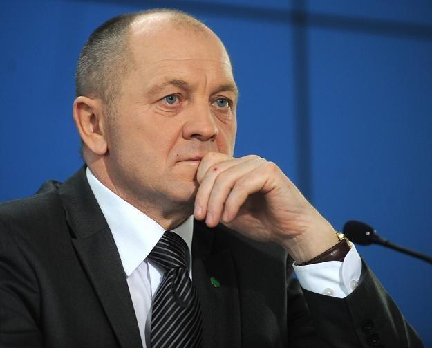 Marek Sawicki, b. minister rolnictwa. Fot. Witold Rozbicki /Reporter