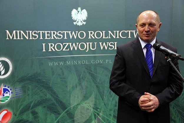 Marek Sawicki, minister rolnictwa i rozwoju wsi /PAP