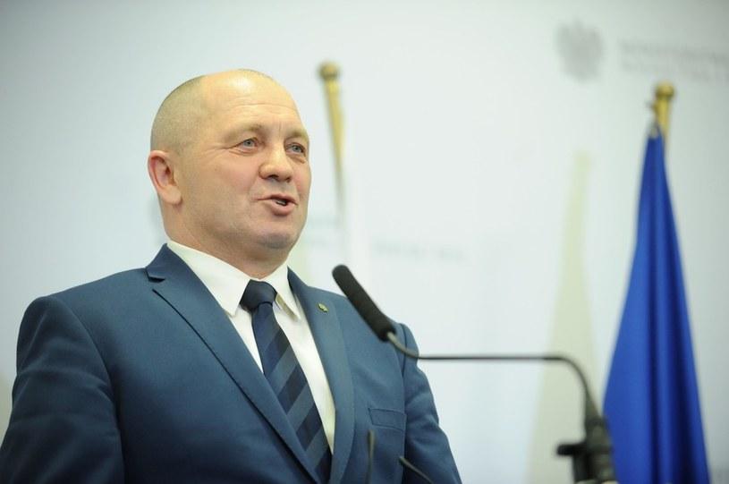 Marek Sawicki /Boleslaw Waledziak /Reporter