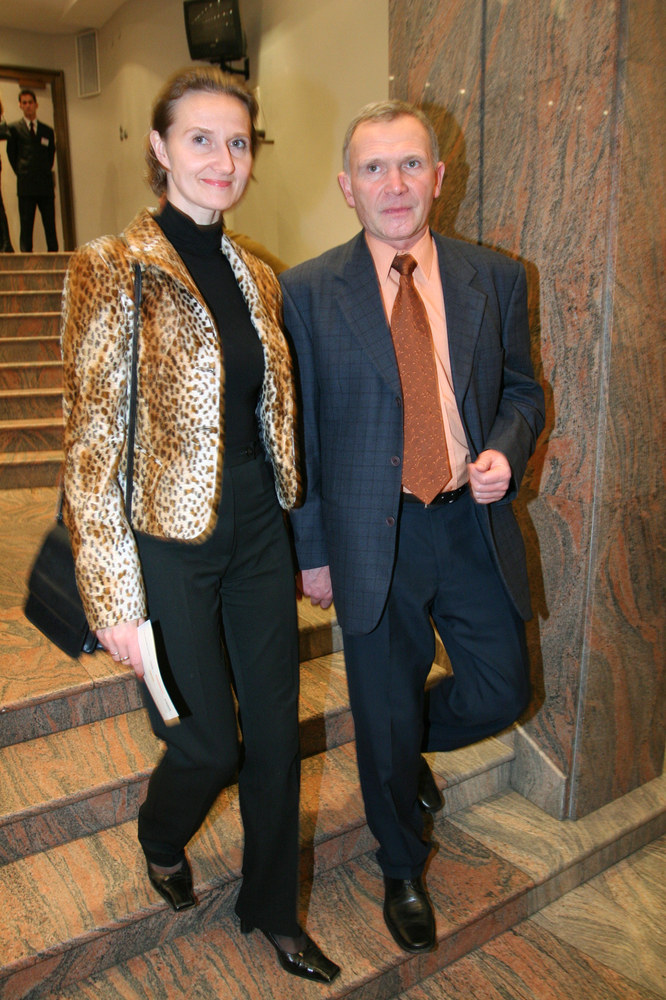 Marek Siudym z żoną Joanną /Palicki /AKPA
