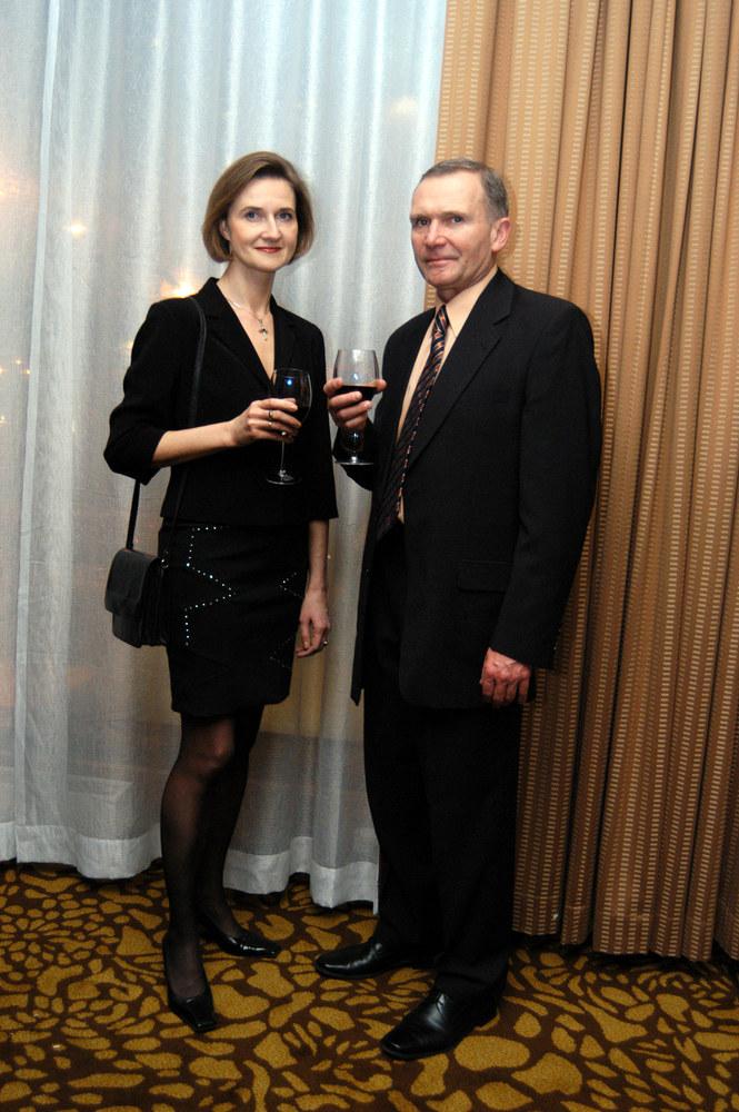 Marek Siudym z żoną Joanną /Niemiec /AKPA