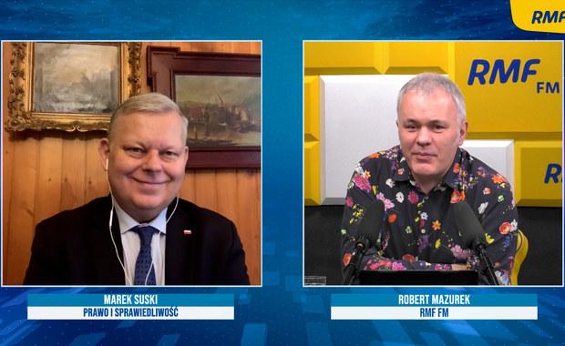 """Marek Suski o tarciach w koalicji: """"Jest takie stopniowanie: wróg, śmiertelny wróg, koalicjant"""""""