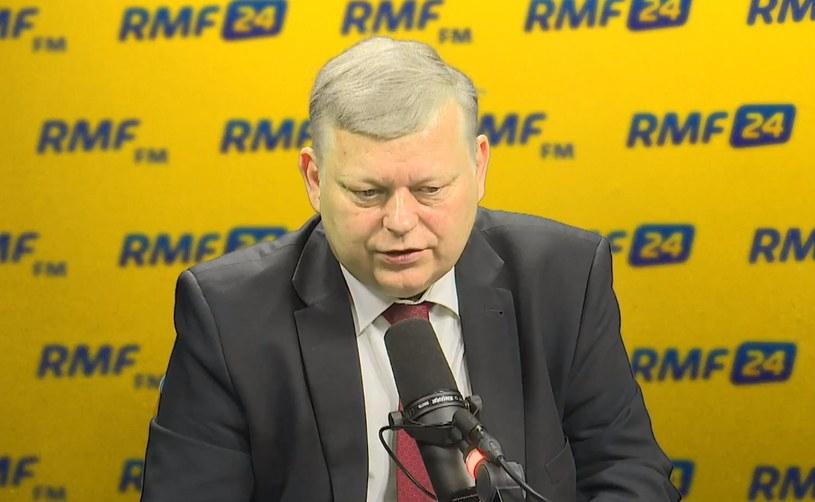 Marek Suski w RMF FM /RMF