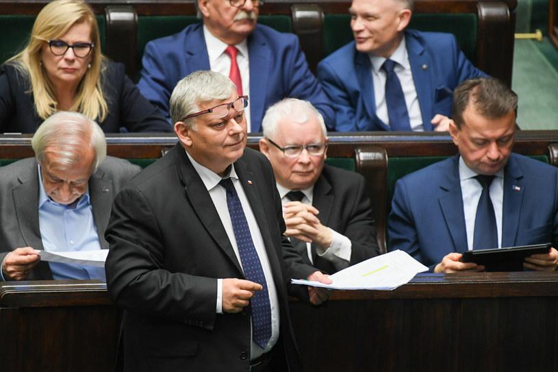 Marek Suski w Sejmie /Jacek Domiński /Reporter