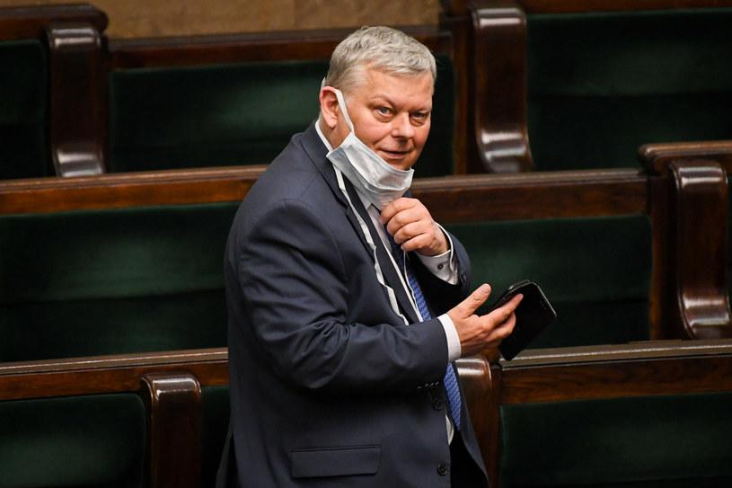 Marek Suski w Sejmie /Jacek Dominski/ /Reporter