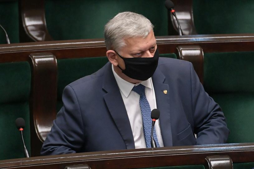 Marek Suski w Sejmie / Marcin Obara  /PAP