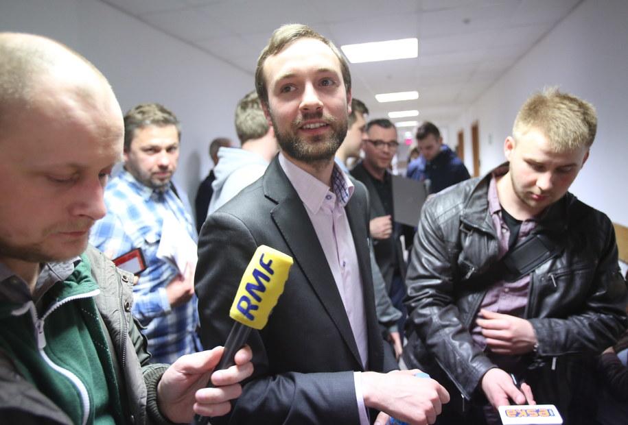 Marek Tatała w sądzie /Leszek Szymański /PAP