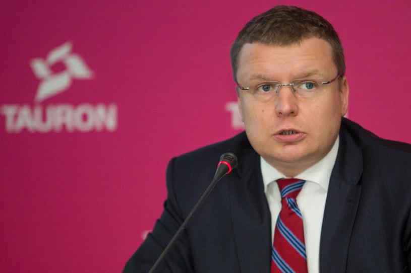 Marek Wadowski, p.o. prezesa Grupy Tauron /Tomasz Jastrzębowski /Reporter