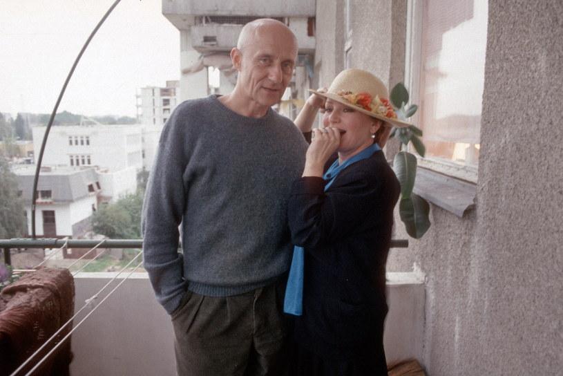 Marek Walczewski i Małgorzata Niemirska /Andrzej Wiernicki /Agencja FORUM