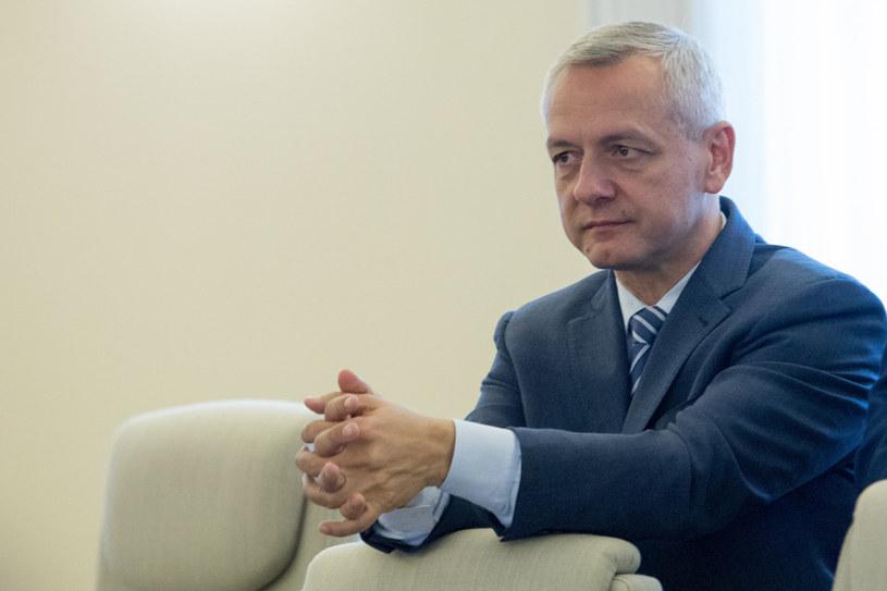 Marek Zagórski, minister cyfryzacji. /Tomasz Jastrzębowski /Reporter