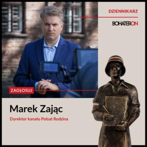 Marek Zając nominowany do Nagrody im. Powstańców Warszawy BohaterON
