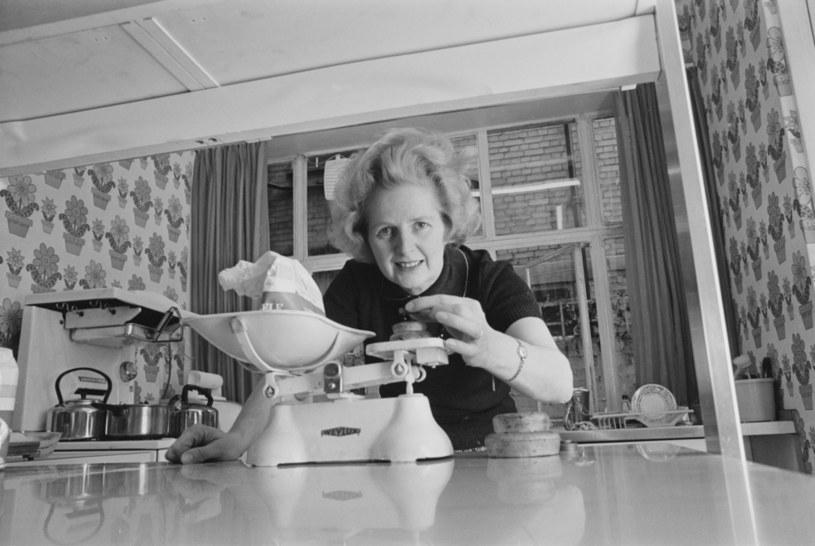 Margaret Thatcher w swojej kuchni /Getty Images