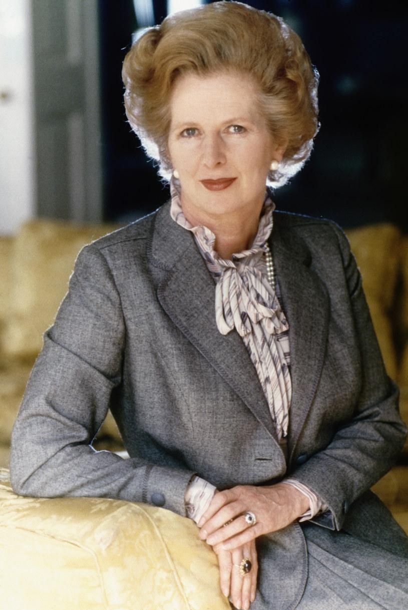 Margaret Thatcher w wywiadach zaprzeczała, że stosuje diety odchudzające /Getty Images