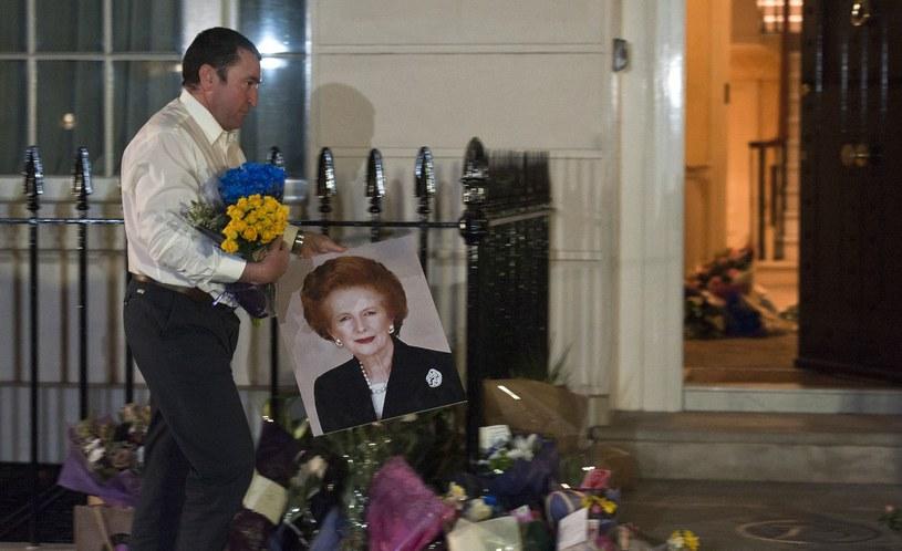 Margaret Thatcher zmarła w wieku 87 lat /AFP
