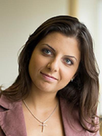 Margarita Simonyan, redaktor naczelna RT /Informacja prasowa
