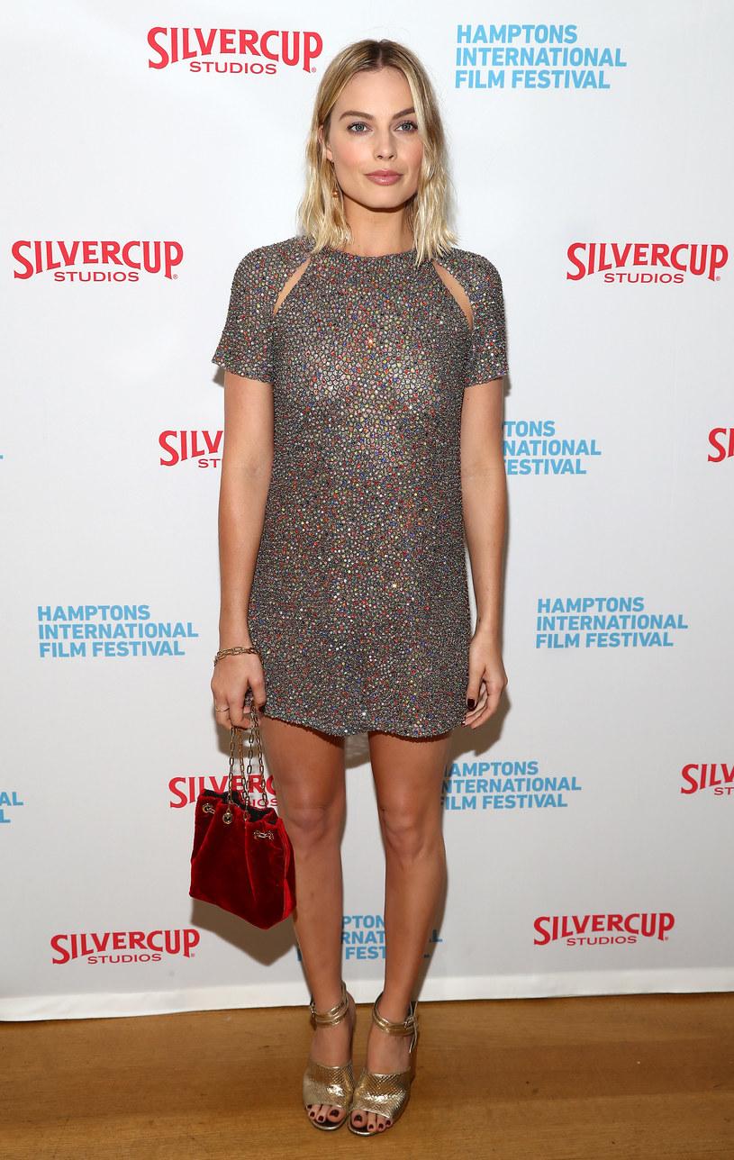 """Margot Robbie na premierze filmu """"I, Tonya"""" /Astrid Stawiarz /Getty Images"""