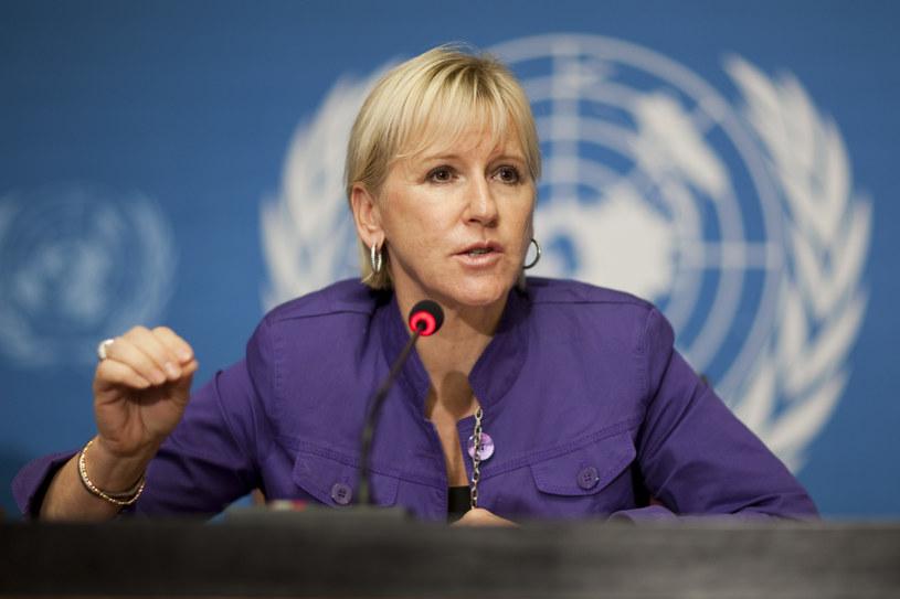 Margot Wallstroem w 2010 r. /VALENTIN FLAURAUD /Agencja FORUM