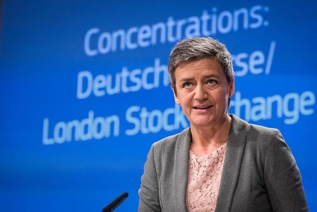 Margrethe Vestager, unijna komisarz ds. konkurencji /AFP