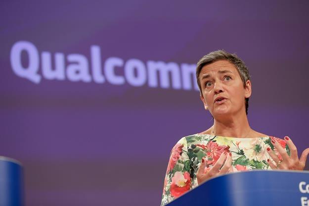 Margrethe Vestager, unijna komisarz ds. konkurencji /EPA