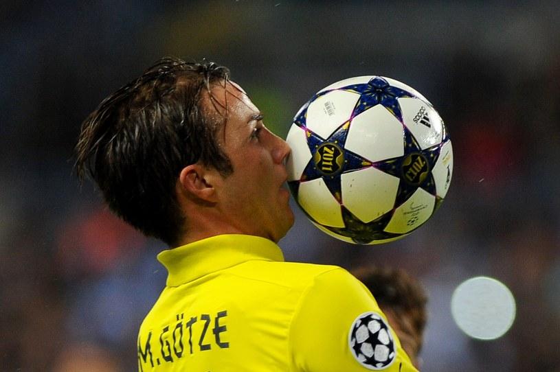 Mari Goetze sam mógł rozstrzygnąć mecz w Maladze. /AFP