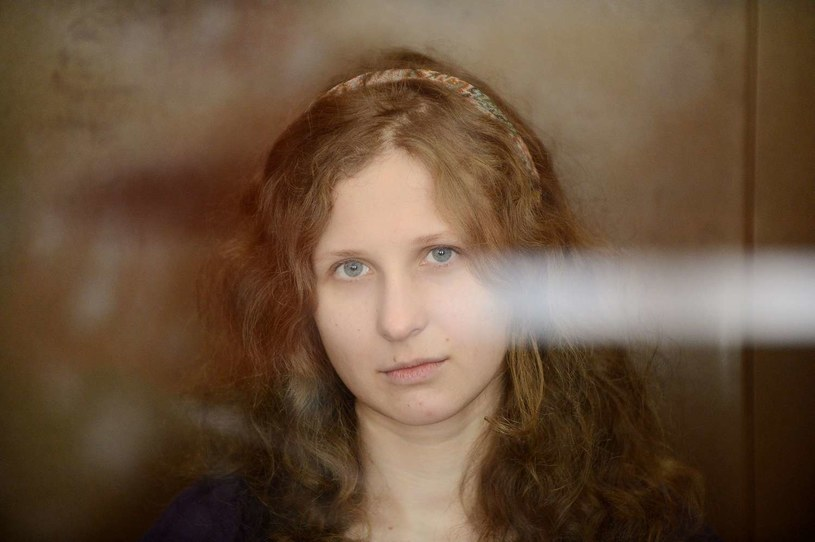 Maria Alochina, jedna z uwięzionych czlonkiń Pussy Riot /AFP