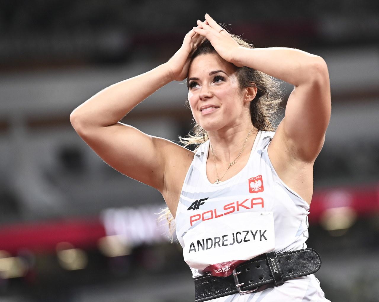 Maria Andrejczyk po zdobyciu srebra: Mój bark zrobił tyle, ile mógł