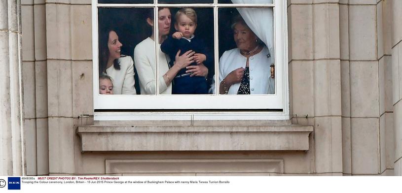 Maria Borrallo jest opiekunką książęcych dzieci /Tim Rooke/REX Shutterstock /East News
