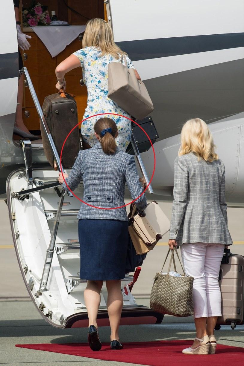 Maria Borrallo towarzyszyła książęcej parze podczas wizyty w Polsce /Dominic Lipinski   /East News