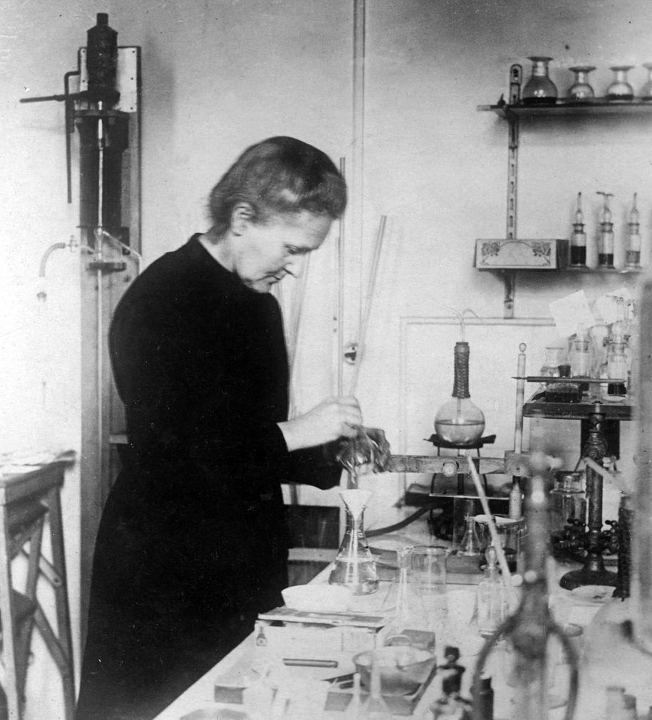 Maria Curie-Skłodowska. Zdjęcie wykonano w 1911 roku. /CTK /PAP/CTK