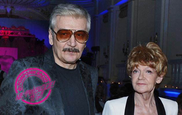 Maria Czubaszek i Wojciech Karolak /Andras Szilagyi /MWMedia