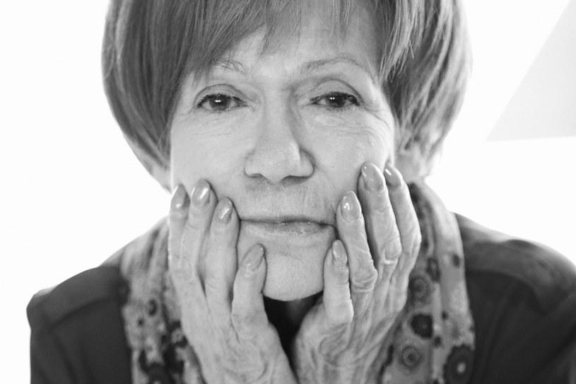 Maria Czubaszek jako wybitna artystka za życia cieszyła się ogromną popularnością /Wojciech Olszanka /East News