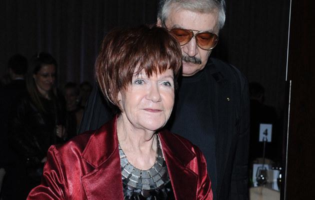Maria Czubaszek z mężem Wojciechem Karolakiem /Andras Szilagyi /MWMedia