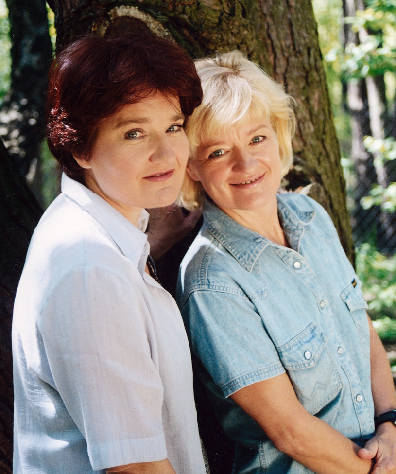 Maria i Barbara Winiarskie, 2001 r. /Marek Szymański /Agencja FORUM