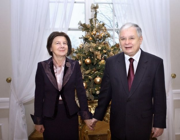 Maria i Lech Kaczyńscy, fot. P. Bławicki /Agencja SE/East News