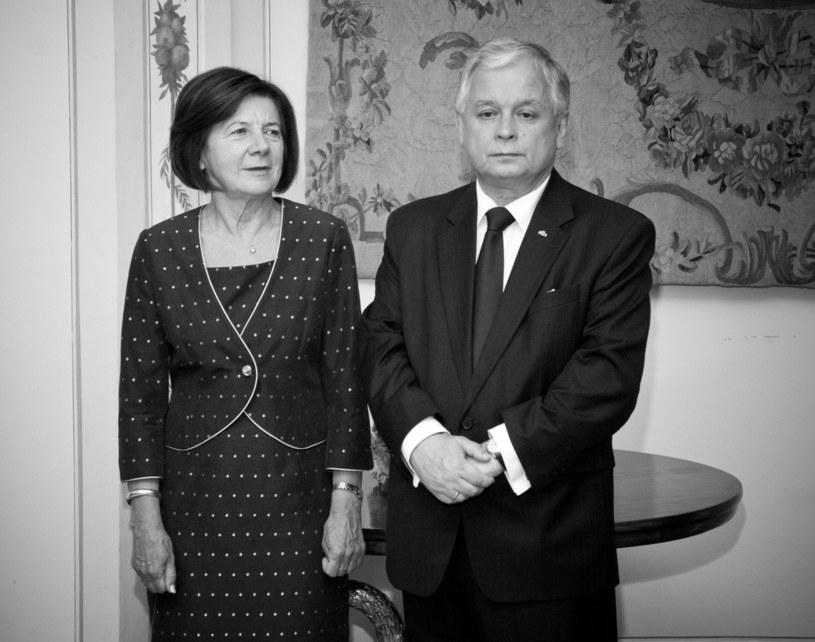 Maria i Lech Kaczyńscy /Piotr Wygoda /East News