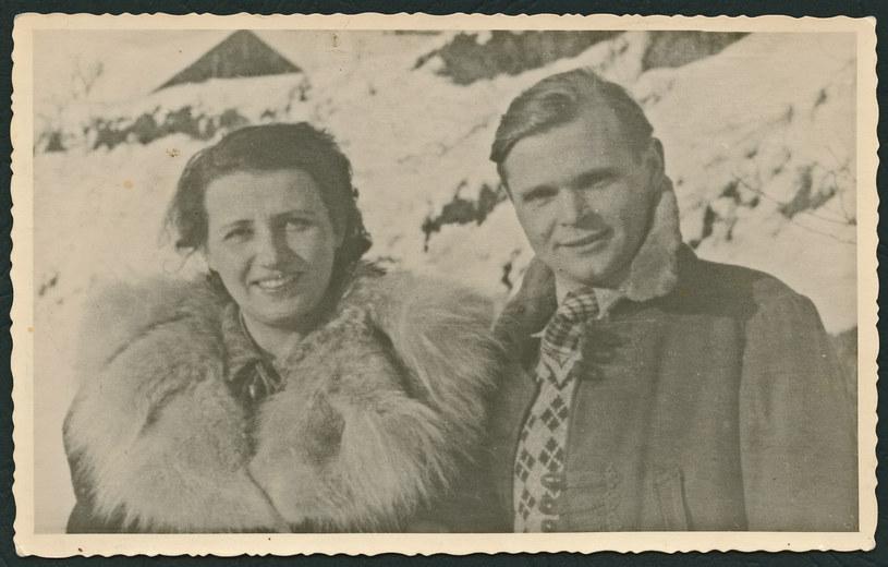 Maria i Włodzimierz Seniukowie, rodzice Anny Seniuk /archiwum prywatne