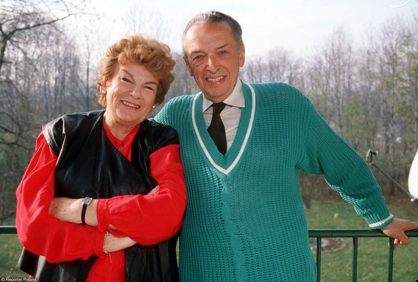 Maria Koterbska z mężem /- /Reporter