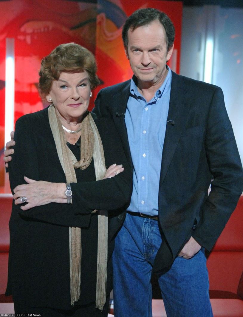 Maria Koterbska z synem /- /East News
