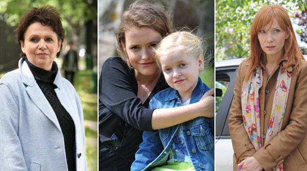 Maria (Małgorzata Pieńkowska), Ala (Olga Frycz), Agnieszka (Magdalena Walach) /www.mjakmilosc.tvp.pl/