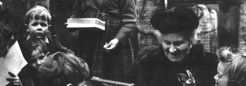Maria Montessori była wybitnym pedagogiem /YouTube