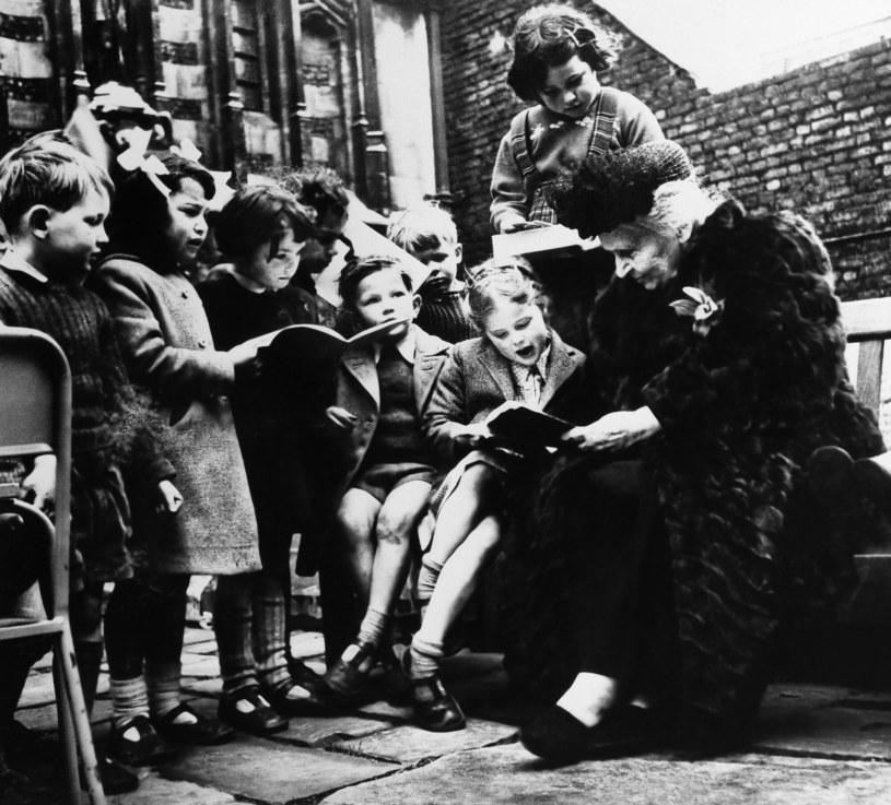 Maria Montessori stworzyła podwaliny współczesnej pedagogiki /ASSOCIATED PRESS/East News /East News