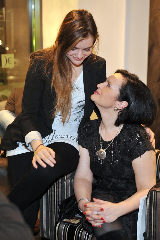 Maria Niklińska i Jolanta Fajkowska /Kurnikowki /AKPA