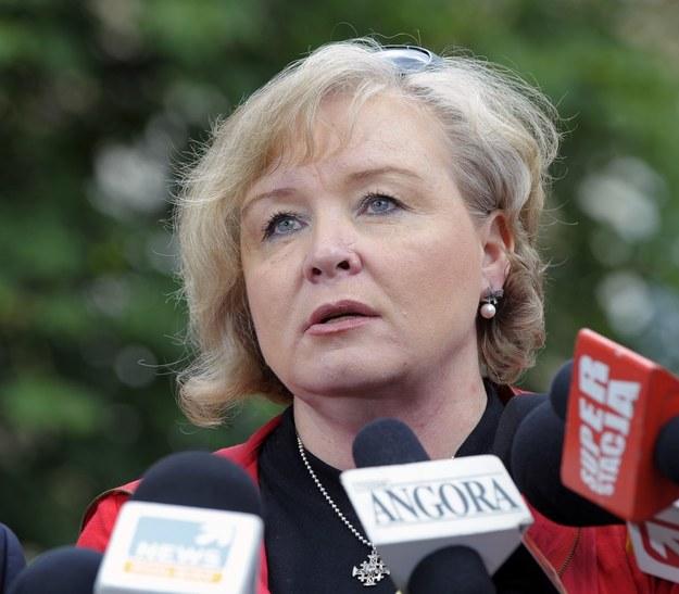 Maria Ochman, przewodnicząca Krajowego Sekretariatu Ochrony Zdrowia NSZZ Solidarność /Jan Bielecki /Super Express